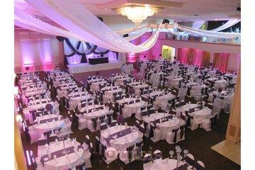 Riverside Banquet Halls in Richmond: wedding hall decoration
