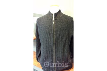 Johnmichael Menswear in Delta: Full zip cotton cardigan by Tommy Bahama