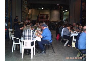 Méchoui Mobile in Saint-Urbain-Premier: groupe de travailleurs