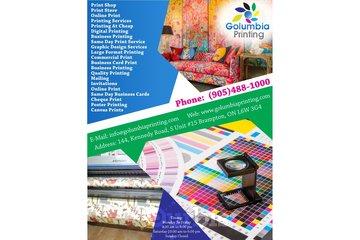 Golumbia Printing | Business Printing Brampton