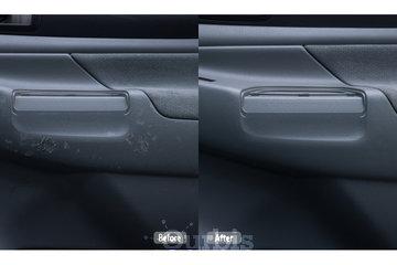 Fibrenew Levis in Lévis: damaged door panel repair