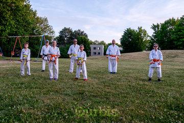 Ryu Karaté Shotokan à Chateauguay: Passage de ceinture juin 2020. La pratique du karaté est adapté aux circonstances.