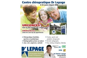 Centre chiropratique Dr Lepage