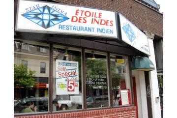 Etoile Des Indes Restaurant in Montréal