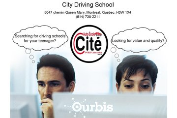 City Driving School à Montréal: Montreal Driving School Prices | Teaching safe driving techniques since 1958