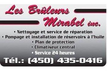 Les Brûleurs Mirabel in Mirabel: chauffage-climatisation