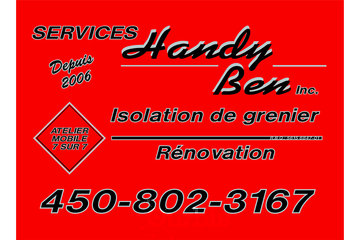 Services Handy Ben Inc.