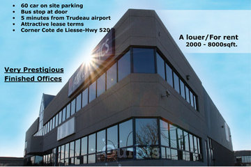 Pava Corp à Saint-Léonard: Office Space corner of Cotes-de-Liesse in Dorval