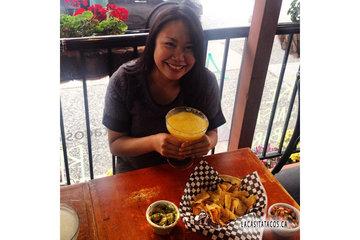 La Casita Tacos in Vancouver: Mango Margarita Monday I call it! La Casita Tacos in West End Vancouver BC