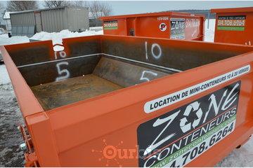 Location de conteneurs - Zone Conteneurs Inc - Louer à Mirabel: Conteneur divisible