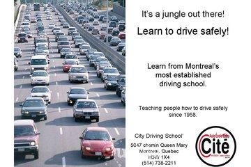City Driving School à Montréal: Driving Schools in Montreal | Safe Driving Techniques since 1958
