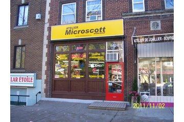 Atelier Microscott à Montréal