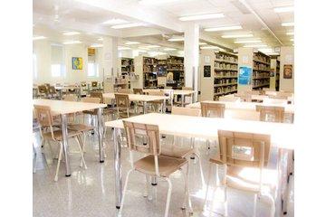 Collège St Jean Vianney à Montréal: Bibliothèque du collège privé secondaire St-Jean-Vianney à Montréal
