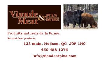 Viande & Plus / Meat & More