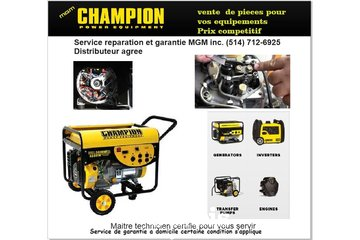 Reparation Doutils MGM Inc