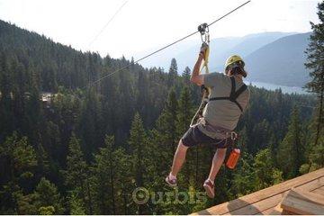 Kokanee Mountain Zipline in Nelson: 2