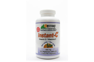 Westcoast Naturals in Richmond: Instant-C Vitamin C 600 mg 180 vcaps