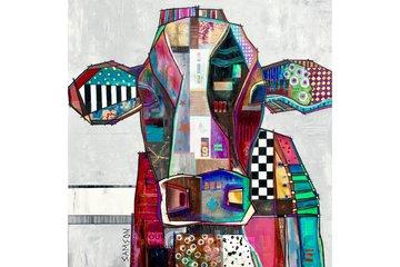 Marc Samson Artist in Montreal: Ah la Vache