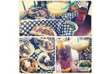 La Casita Tacos in Vancouver: Tacos, guacamole, mango margarita and apple soda La Casita Tacos in West End Vancouver BC