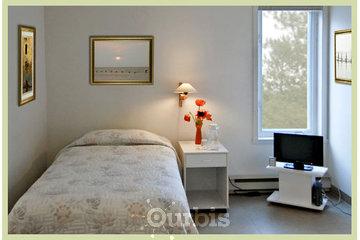 Centre Val Santé in Rawdon: Une chambre type.