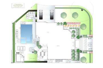 Paysagiste Légaré in Saint-Léonard: plan