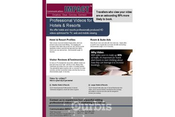 New Horizons Consulting - Communication-IMPACT à Montréal: Video Marketing for Hotels and Resorts