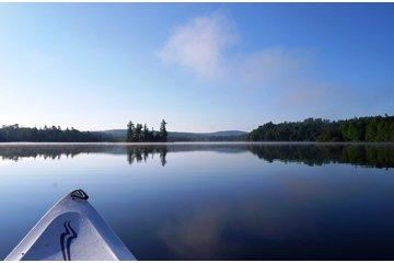 L'Hostellerie du Lac Noir in Nominingue: On the lake