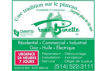 Plomberie Et Chauffage René Binette Inc