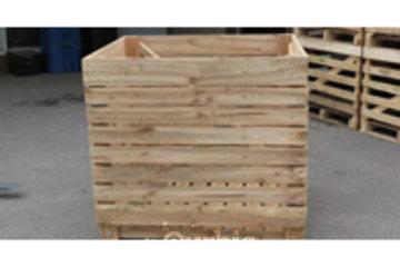Mailhot Léo Inc in Saint-Alexis: caisse en bois