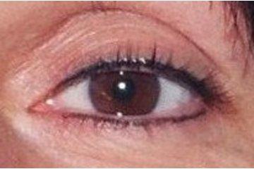 maquillage permanent nancy morin à Québec: contour yeux noir