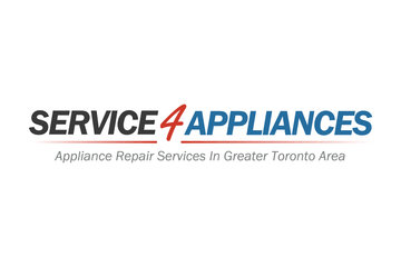 Service 4 Appliance Repair Toronto in Concord: service 4 appliances logo