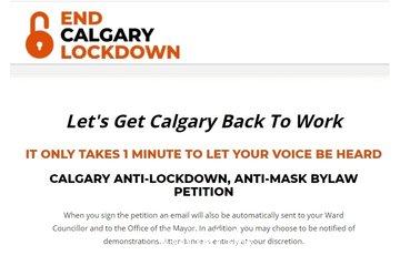 End Calgary Lockdown à calgary