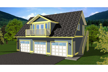 Westhome Planners Ltd in Penticton: Garage Plans with Loft Suites