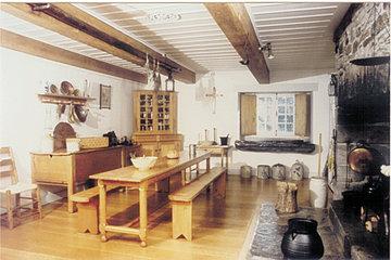 Maison Saint-Gabriel in Montréal: Salle à manger