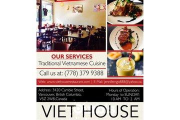 Vietnamese Cuisine Menu Vancouver | Viet House Restaurant