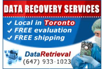 Data Retrieval Toronto - Data Recovery Services