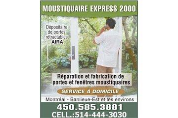 Moustiquaire Express 2000 à Repentigny