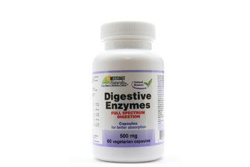 Westcoast Naturals in Richmond: Digestive Enzymes 500 mg 60 vcaps