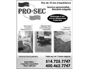 Pro-Sec in Saint-Hubert