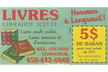 Librairie Icitte à Longueuil