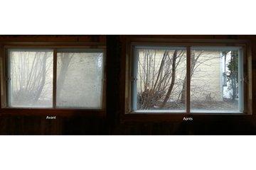 Laveur Inc à Montreal: Lavage de vitres avant apres