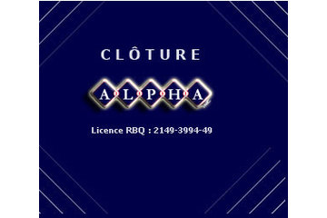 Cloture Alpha Inc in L'Ancienne-Lorette: Cloture Alpha Quebec