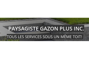 Paysagiste Gazon Plus Inc