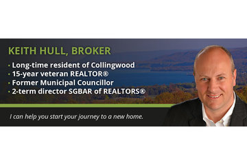 Keith Hull, Real Estate Broker à Collingwood