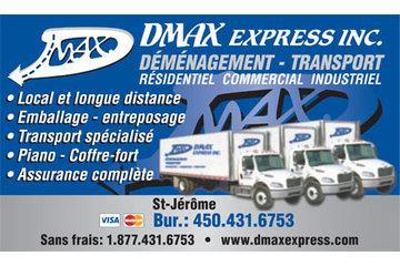 Dmax Express Inc / Déménagement-Entrepôts