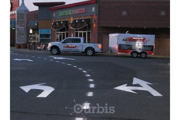 Gestimo Signalisation Inc. à Chambly: Ligne dans allées de circulation