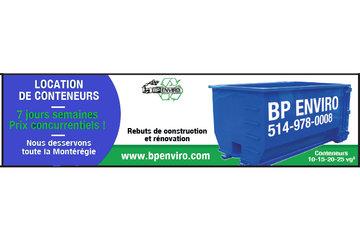 B.P. Enviro Inc. Conteneur à St-Mathieu-de-Beloeil: location de conteneur