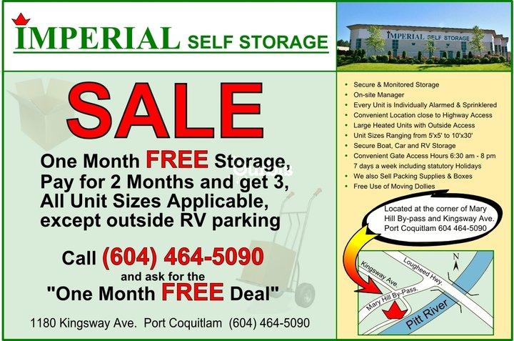 Imperial Self Storage Port Coquitlam Bc Ourbis