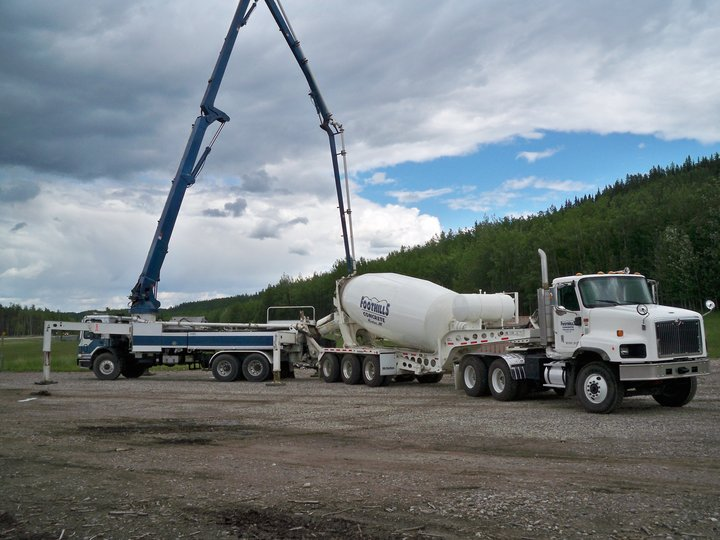 Concrete Pumping Station : Foothills concrete products pumping hinton ab ourbis