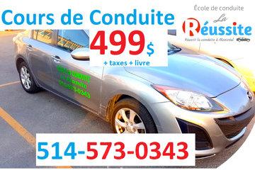 Ecole de Conduite La Reussite à Montreal: Ecole de Conduite La Reussite Voiture